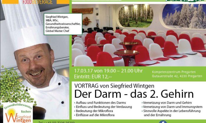 Vortrag von Siegfried Wintgen – Der Darm